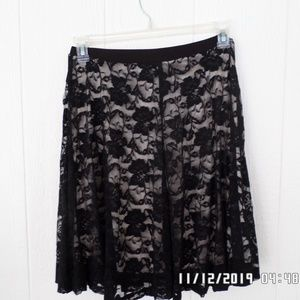 2 for $8 Lace Lined Skirt